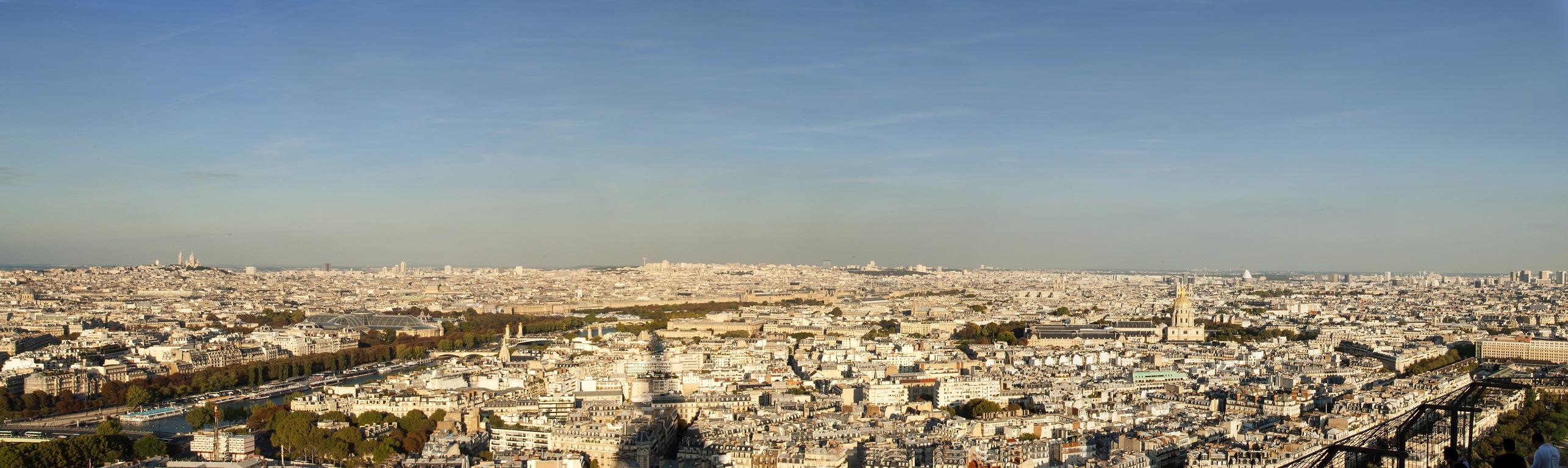 панорама париж web