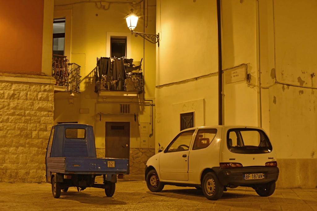 Bari street fiat