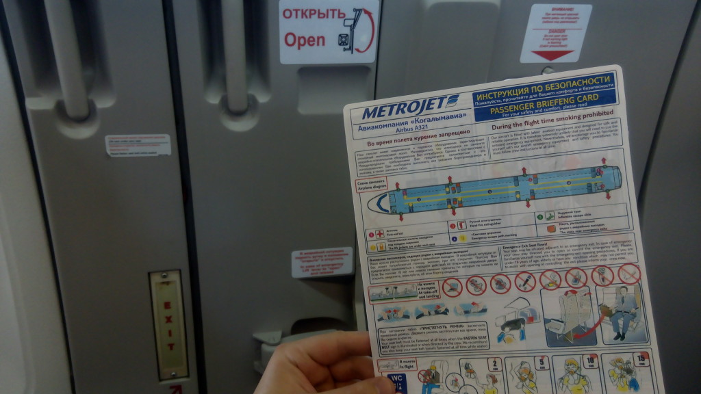 metrojet boarding safety